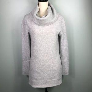 Merona Light Gray Turtleneck Sweater Sz M